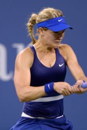Eugenie Bouchard – 2014 U.S. Open Tennis Tournament in New York City – 3rd Round