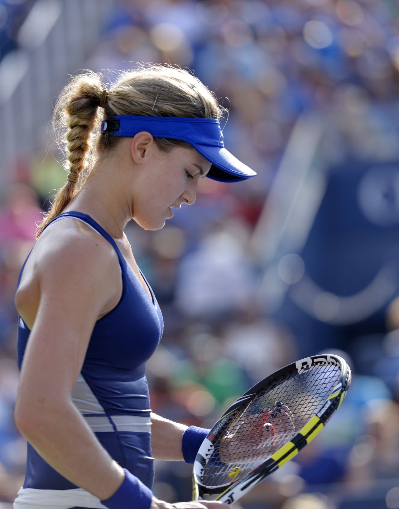 Eugenie Bouchard – 2014 U.S. Open Tennis Tournament in New York City – 4th Round