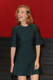 Eva Herzigova - Milan Fashion Week - Dolce & Gabbana Front Row, September 2014