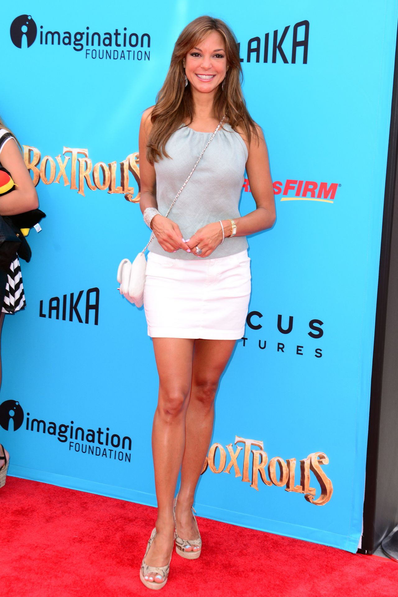 Eva Larue The Boxtrolls Premiere In Universal City