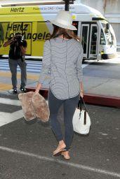 Eva Longoria at LAX Airport - September 2014
