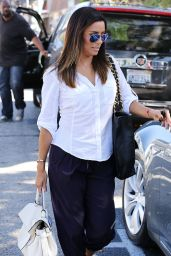Eva Longoria - Leaving Ken Paves