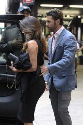 Eva Longoria Style - Exits the Four Seasons Hotel in New York City - Sep 2014