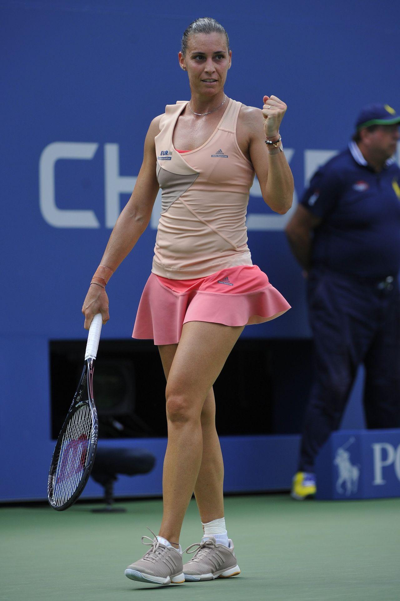 Flavia Pennetta – 2014 U.S. Open Tennis Tournament in New York City – 4th Round