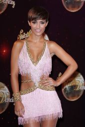 Frankie Bridge - Strictly UK Launch 2014 - Elstree Studios