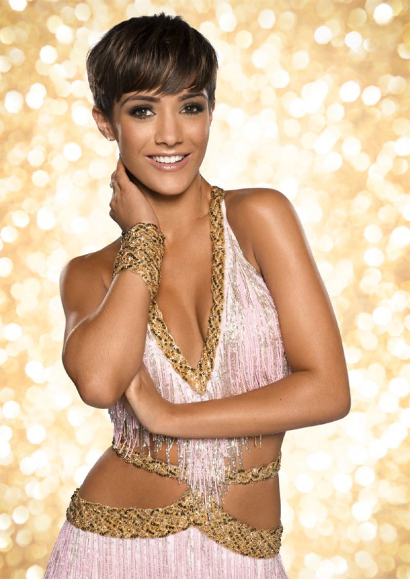 Frankie Sandford - Promo for Strictly Come Dancing 2014