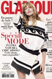 Frida Gustavsson - Glamour Magazine (France) - October 2014 Cover