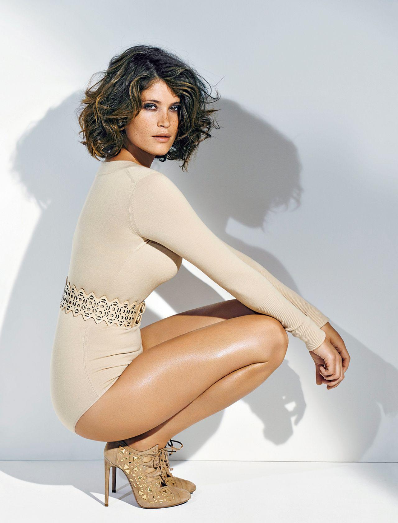 Gemma Arterton Photoshoot For Madame Figaro Magazine
