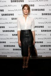 Gemma Arterton - Samsung Galaxy Alpha Launch Part in London - September 2014