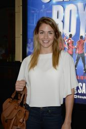 Gemma Atkinson - Jersey Boys Press Night in Manchester - September 2014