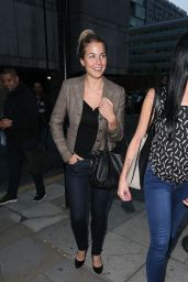 Gemma Atkinson Night Out Style - Full Monty Press Night Manchester, Sept. 2014