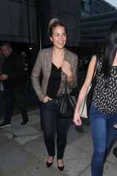 Gemma Atkinson Night Out Style - Full Monty Press Night Manchester, Sept. 2014