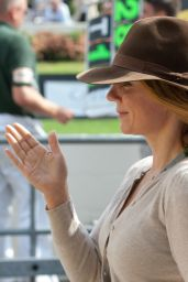 Geri Halliwell at The Goodwood Revival 2014