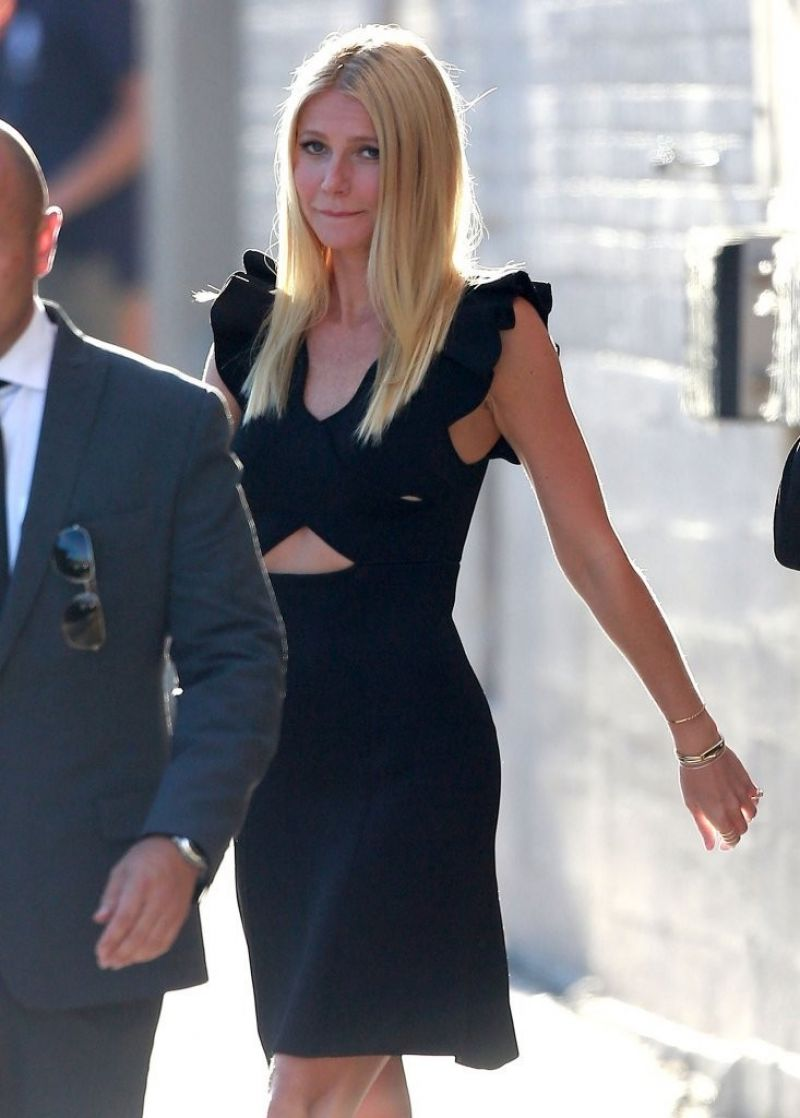 Gwyneth Paltrow Arriving at
