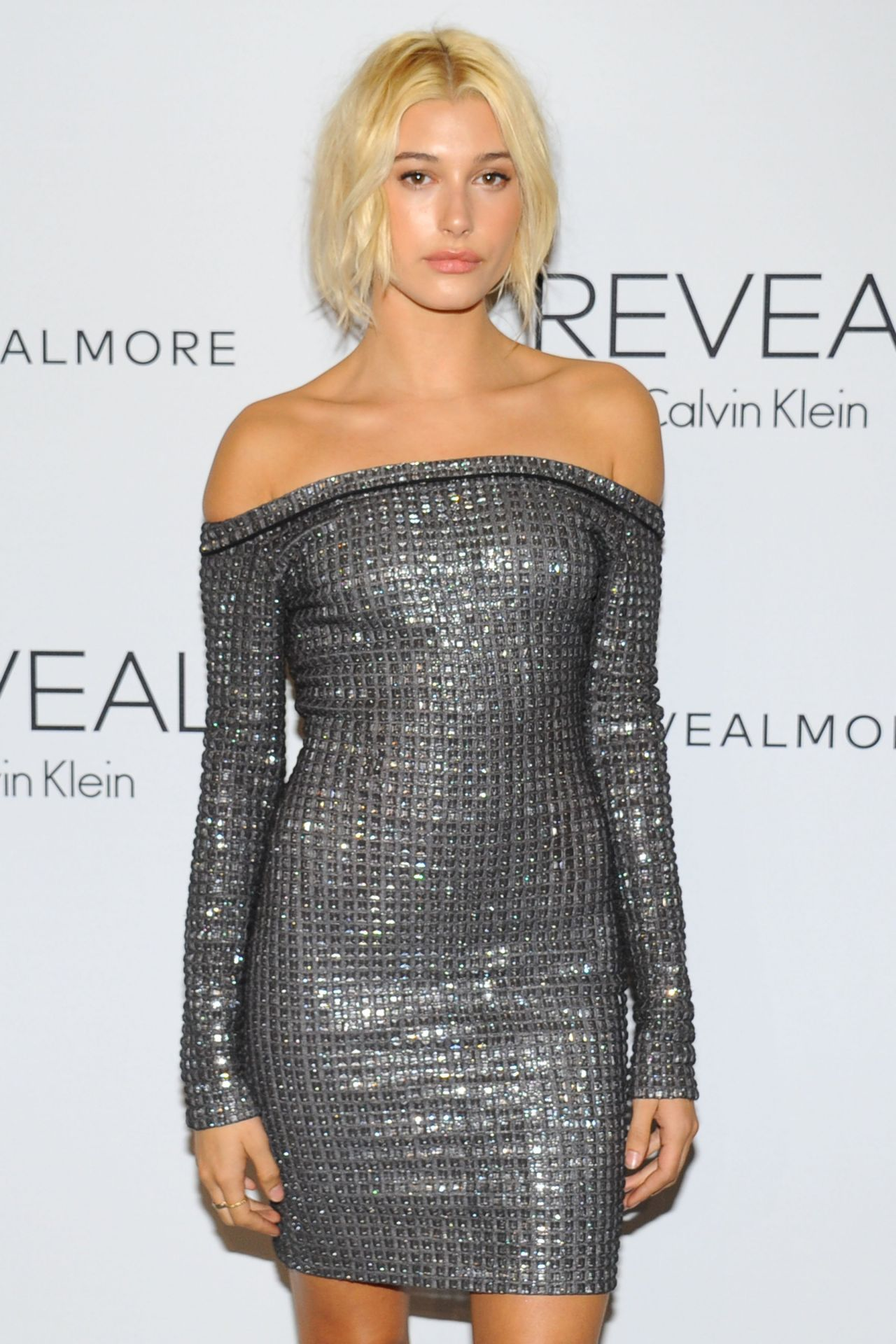 Hailey Baldwin - REVEAL Calvin Klein Fragrance Launch in New York City - September 2014
