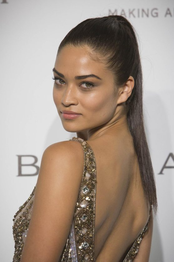 Shanina Shaik – amfAR Gala at Milan Fashion Week – September 2014