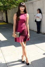Hannah Simone - BCBG Max Azria Fashion Show in New York City – September 2014