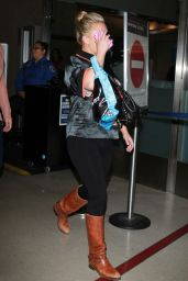 Hayden Panettiere at LAX Airport - September 2014