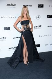 Heidi Klum - Milan Fashion Week amfAR Gala in Italy - September 2014
