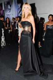 Heidi Klum - Milan Fashion Week amfAR Gala in Italy - September 2014