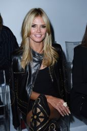 Heidi Klum - Milan Fashion Week - Versace Show Womenswear Spring/Summer 2015