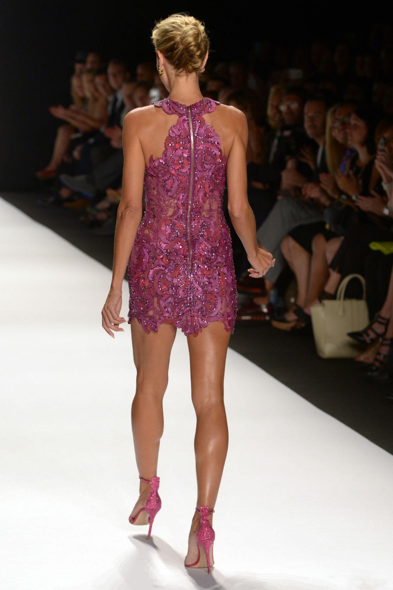 Heidi Klum Project Runway Spring 2015 Fashion Show In
