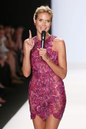 Heidi Klum - Project Runway Spring 2015 Fashion Show in New York City