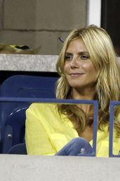Heidi Klum - U.S. Open Tennis Tournament - September 2014