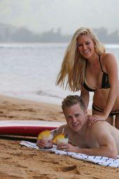 Heidi Montag Bikini Candids - on Hawaiian Vacation - August 2014