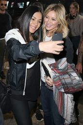Hilary Duff at Sydney Airport - September 2014