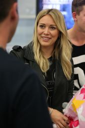 Hilary Duff at Sydney International Airport - September 2014
