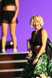 Iggy Azalea & Rita Ora - 2014 Budweiser Made In America Festival in Los Angeles