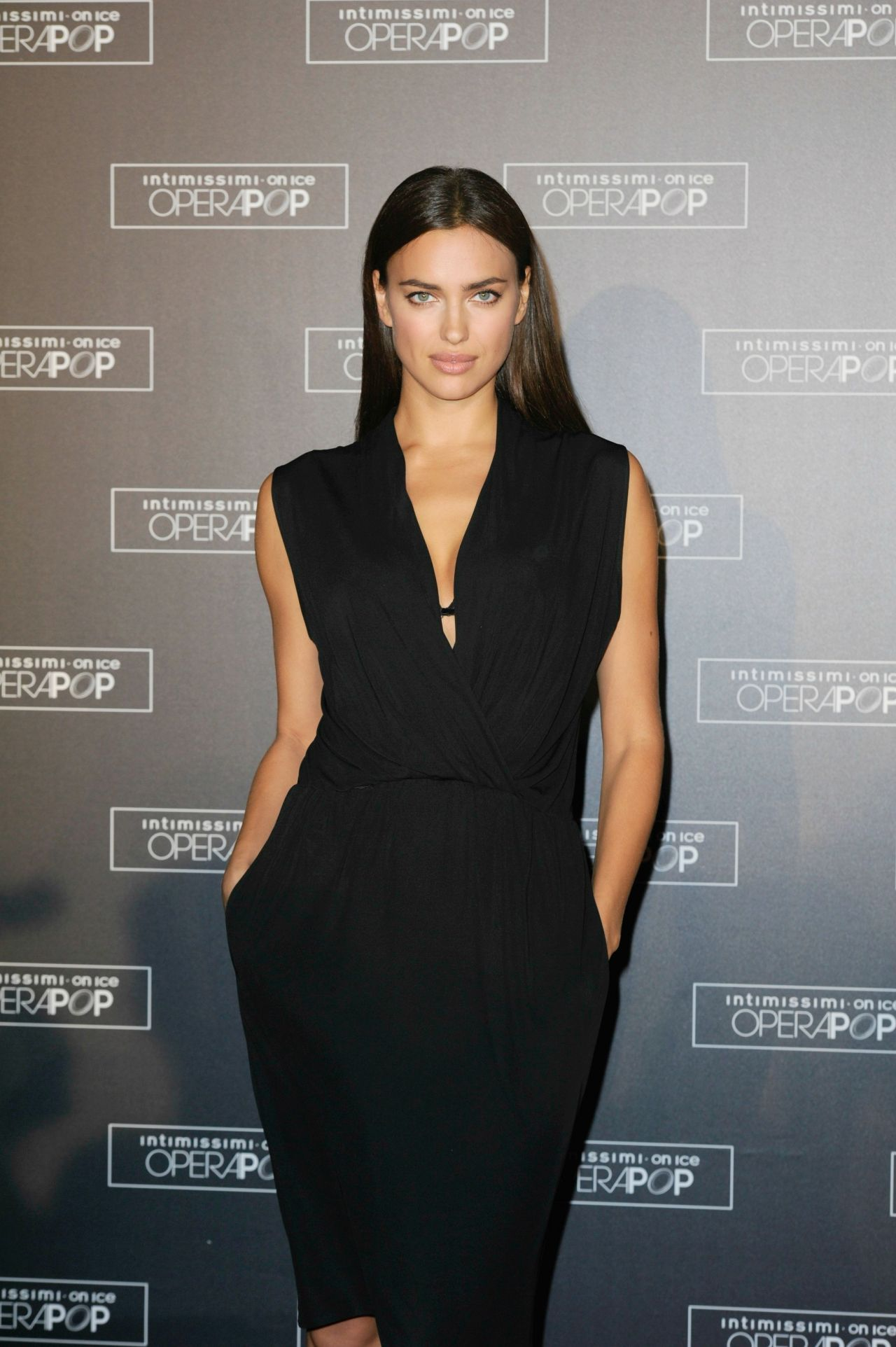 Irina Shayk - Intimissimi on Ice - OperaPop in Verona - September 2014