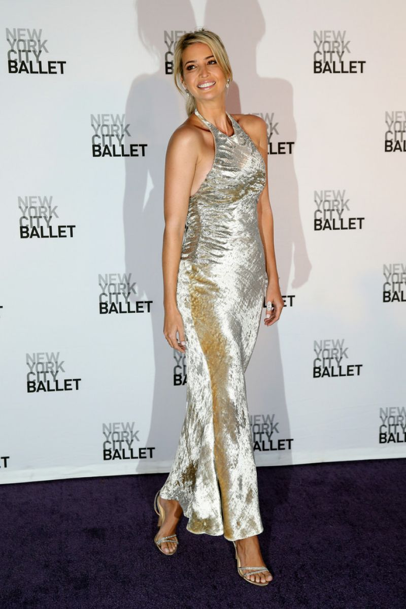 Ivanka Trump - New York City Ballet 2014 Fall Gala at Lincoln Center