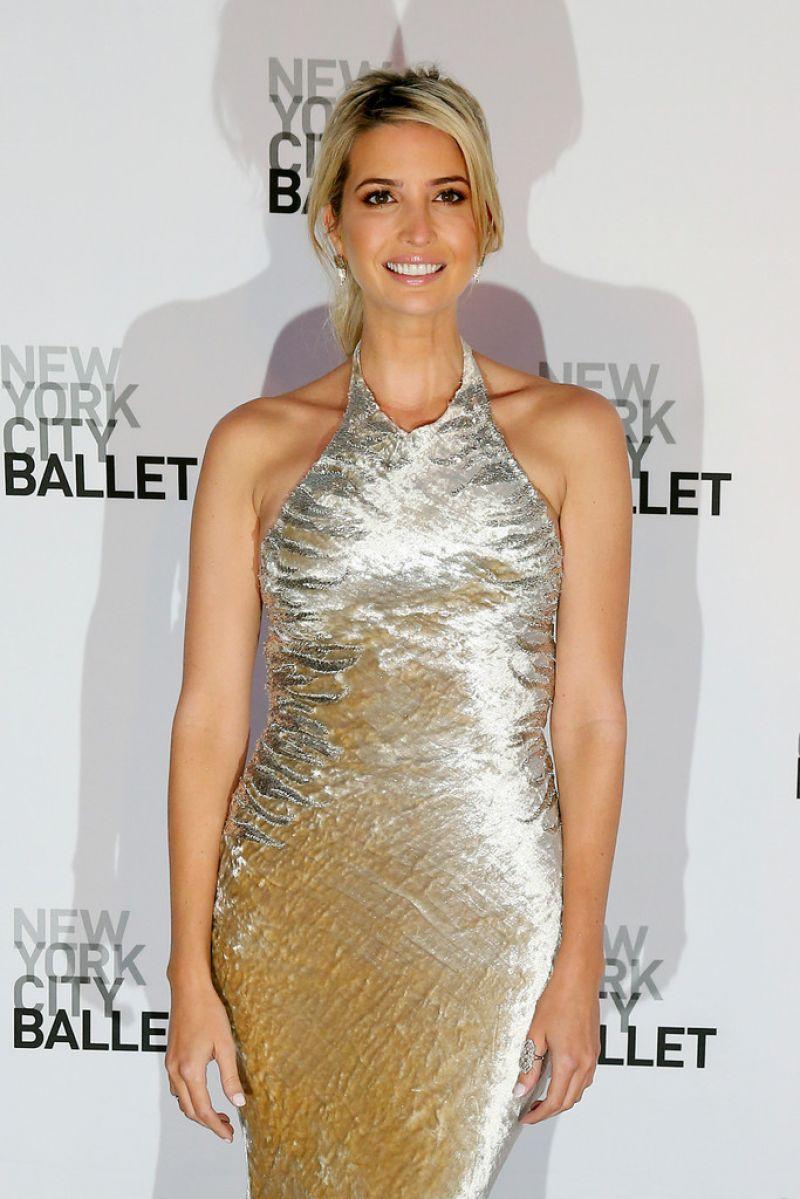 Ivanka Trump New York City Ballet 2014 Fall Gala At