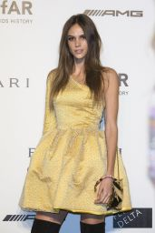 Izabel Goulart - Milan Fashion Week amfAR Gala in Italy - September 2014