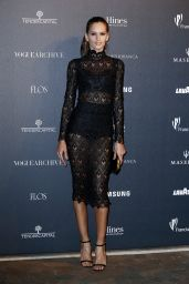 Izabel Goulart - Vogue Magazine Italia 50th Anniversary at Piazza Castello in Milan