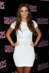 Jacqueline Jossa Attends The Dreamboys Fit And Famous Tour 2014 in London