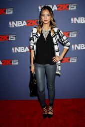 Jamie Chung at the NBA 2K15 Launch Celebration in New York City