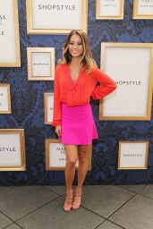 Jamie Chung Attends Marchesa Voyage for ShopStyle Collection Exclusive Preview in NYC