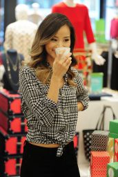 Jamie Chung - Checks out the New Denim Collection in New York City - Sept. 2014