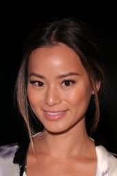 Jamie Chung - Lela Rose Spring 2015 Fashion Show in New York City