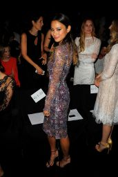 Jamie Chung - Monique Lhuillier Fashion Show in New York City – September 2014