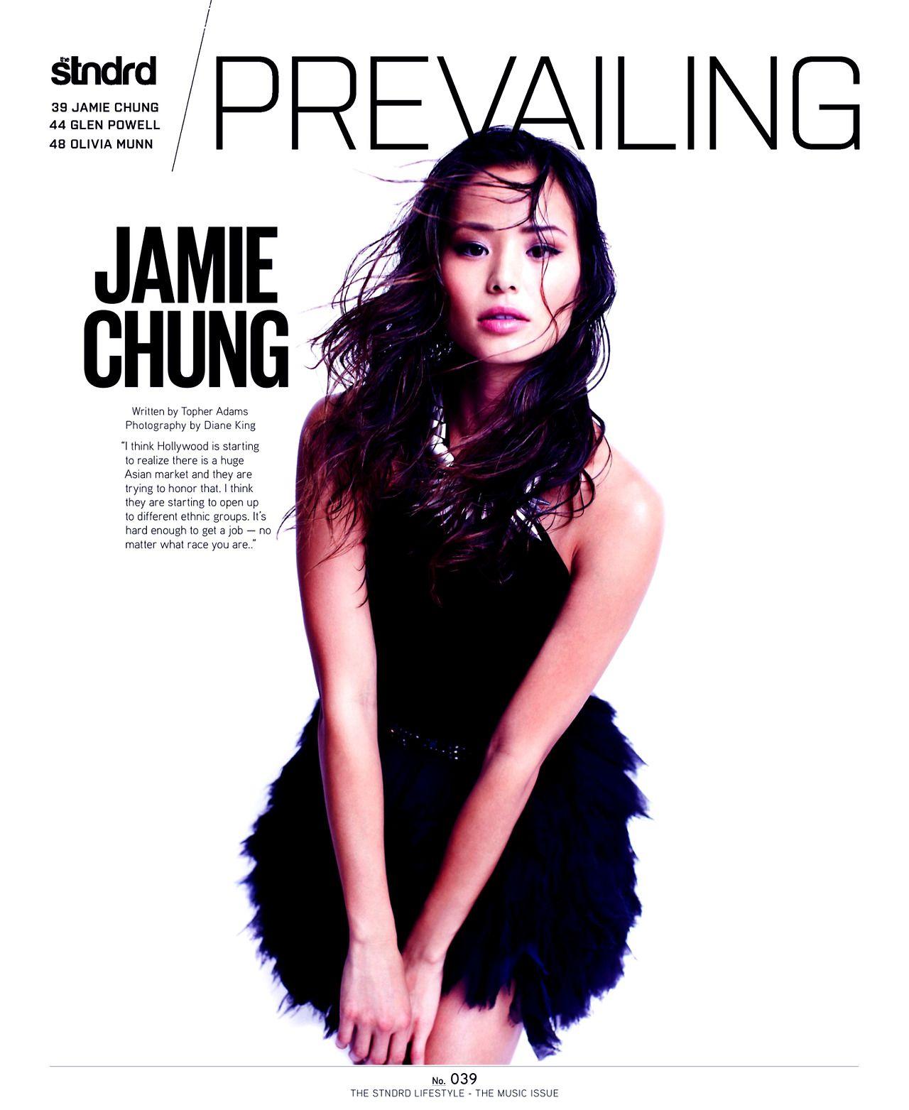 Jamie Chung - STNDRD Magazine issue #6