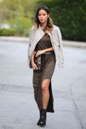 Jamie Chung Style - Leaving a Photoshoot in Brooklyn - September2014
