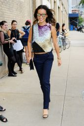 Jamie Chung Style - Out in New York City - September 2014