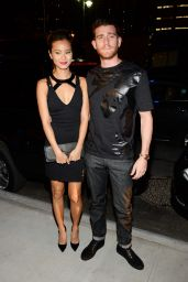 Jamie Chung - Versus Versace Fashion Show in New York City - September 2014
