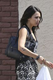 Janel Parrish - Arriving For DWTS Rehearsal in Los Angeles - Sept. 2014
