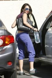 Janel Parrish - DWTS Rehearsals in Los Angeles - SEptember 2014