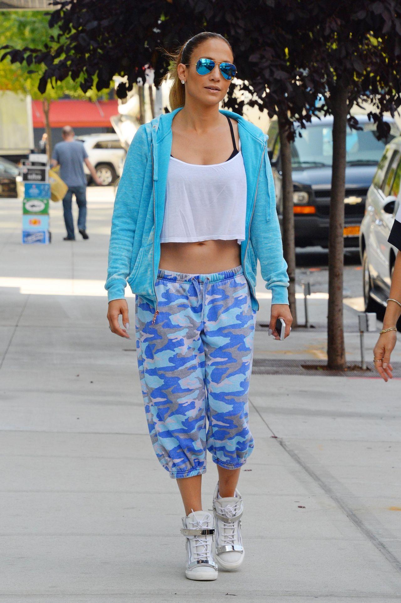 September 2014 Issue: Jennifer Lopez Street Style